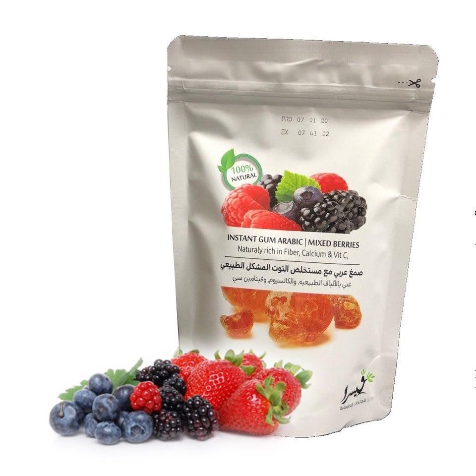 Gambar Gum Arabic Mix Berries 150g (Refill pack)